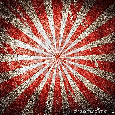 Retro rays pattern background