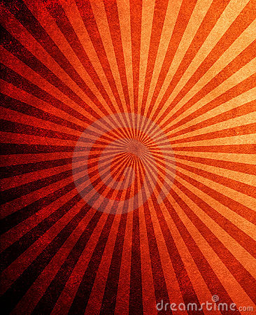 Retro rays pattern background