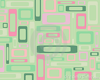 Retro rectangles background