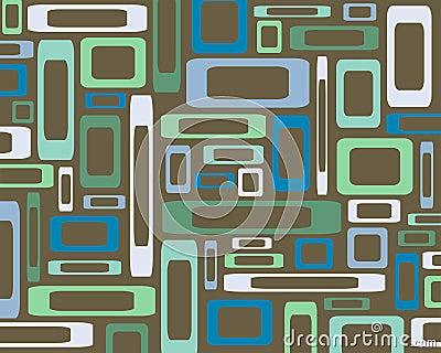 Retro rectangles background