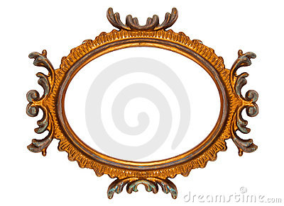 Retro Revival Old Ellipse Frame