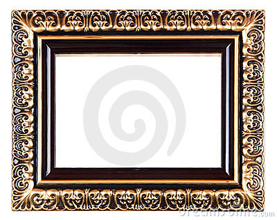 Retro Revival Old Gold Frame