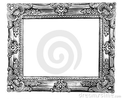 Retro Revival Old Silver Frame