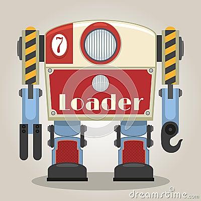 Free Retro Robot Stock Photo - 30274840