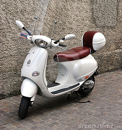 Retro scooter Vespa