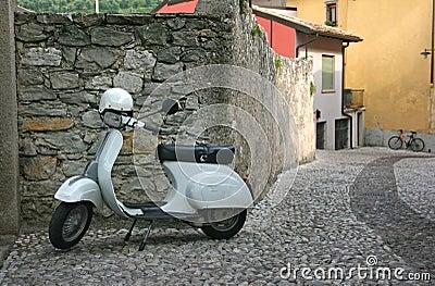 Retro scooter Vespa
