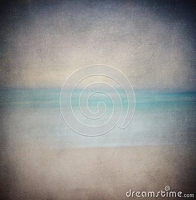 Retro sea background
