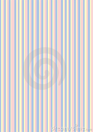 Retro (seamless) stripe pattern with pinky