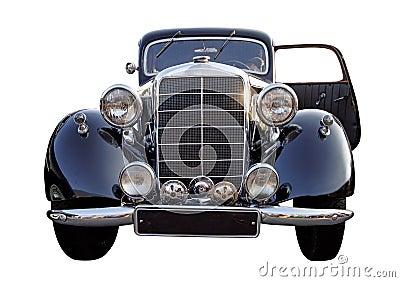 Retro (second world war period) car