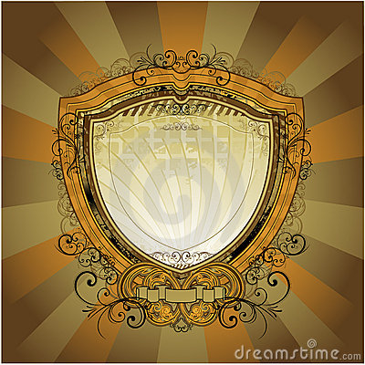 Retro Shield Stock Photography - Image: 14584252