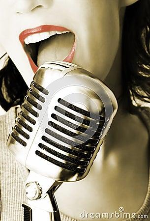 Free Retro Singer Stock Images - 1279494