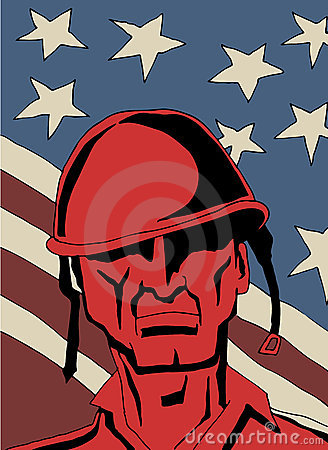 Retro- Soldat
