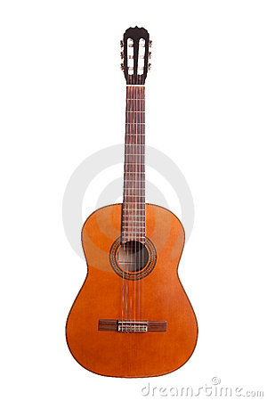 Free Retro Spanish Guitar Royalty Free Stock Photography - 7535867