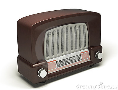 The retro speaker