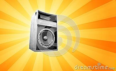 Retro speaker