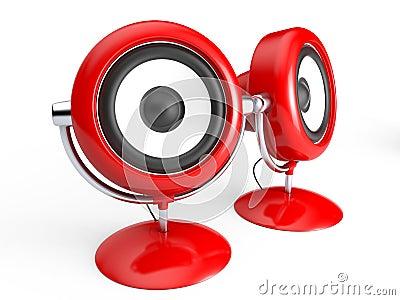Retro speaker system