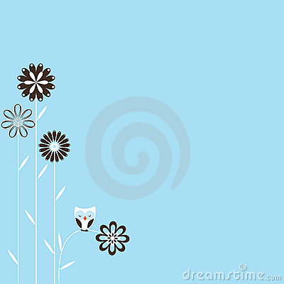 Retro Spring Background