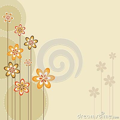 Free Retro Spring Design Royalty Free Stock Images - 13554179