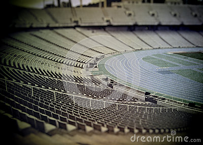 Retro stadium