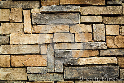 Retro stone wall background