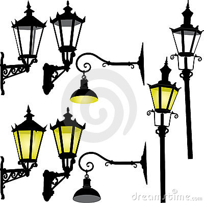 Free Retro Street Lamp And Lattern Stock Photo - 11546270