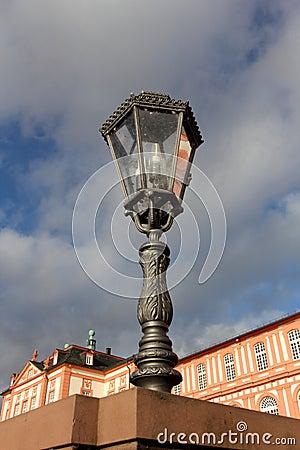 Retro street lantern