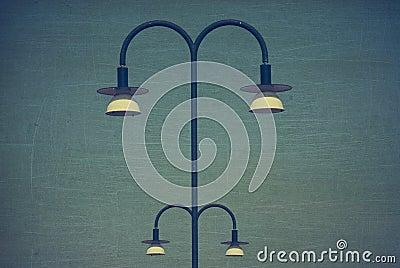 Retro streetlights