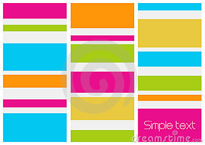 Retro style abstract image. Vector