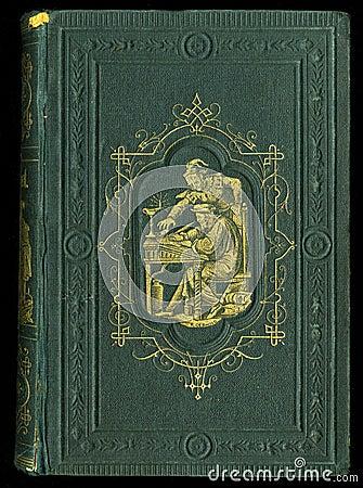 Free Retro Style. Antique Vintage Diary Journal Book Cover Stock Photos - 68116233