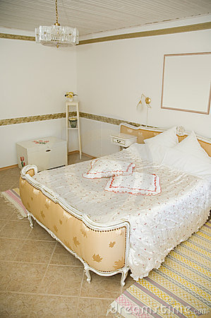 Retro-style Hotel Room