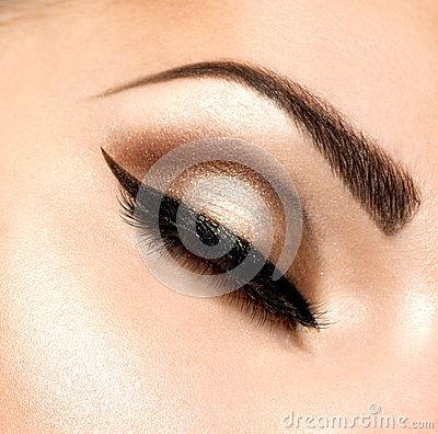 Retro Style Make-up