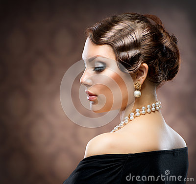 Free Retro Style Portrait Royalty Free Stock Photography - 25452407