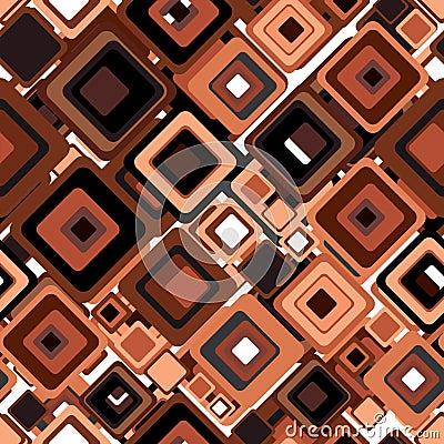 Retro style seamless pattern.