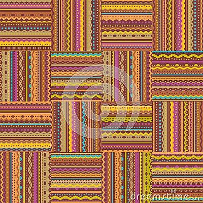 Retro style seamless repeat pattern
