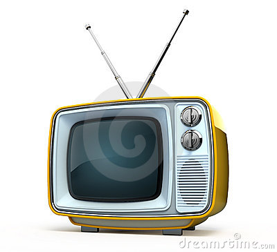 Retro style TV