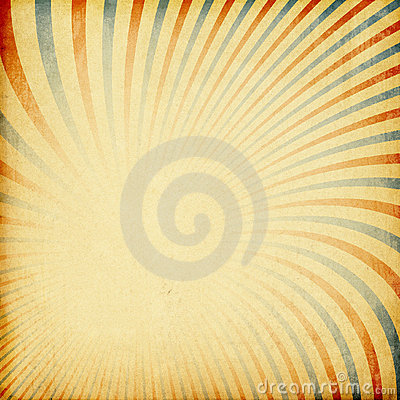 Retro sunburst background.