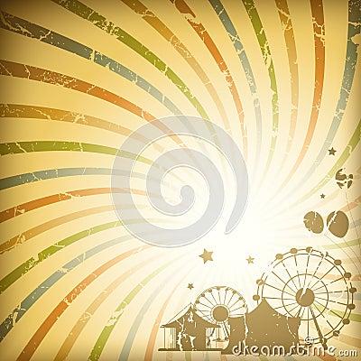 Free Retro Sunburst Background Stock Photos - 17732243