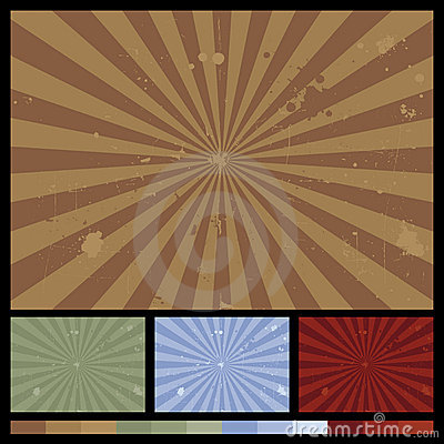 Free Retro Sunburst Backgrounds Stock Image - 5552681