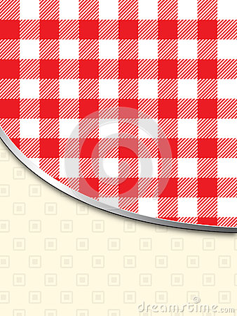 Retro tablecloth texture background