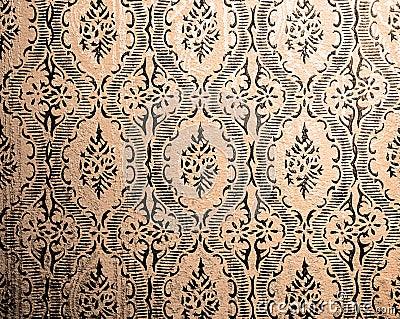 retro tapete stockfoto bild 27890140. Black Bedroom Furniture Sets. Home Design Ideas