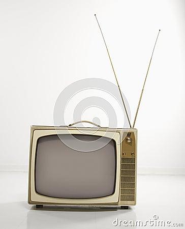 Free Retro Television. Stock Image - 2425321
