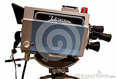 Retro Television Studio Camera