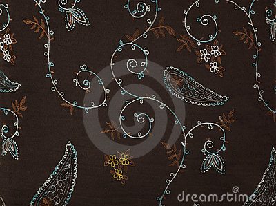 Retro textile fabric
