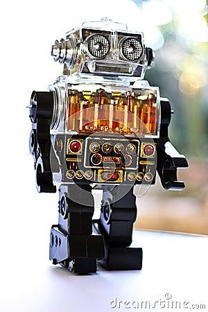 Free Retro Toy Robot Stock Photography - 14312052