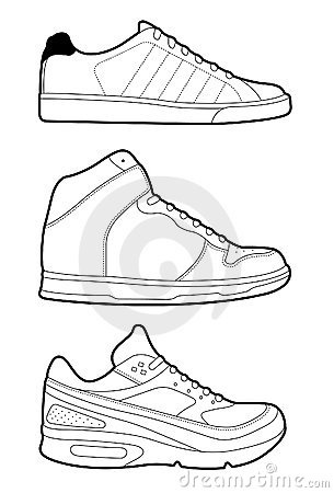 Retro trainers