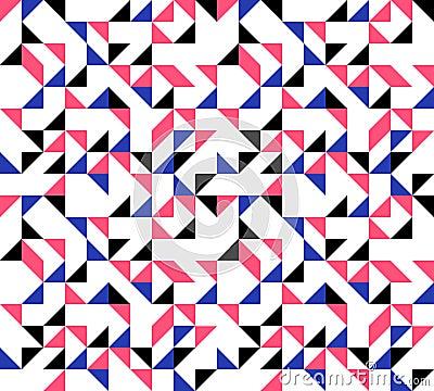 Retro Triangles Background