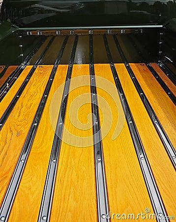 Retro truck bed