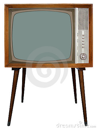 Free Retro TV Royalty Free Stock Image - 1261406