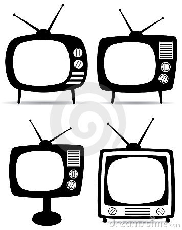 Free Retro Tv Sets Stock Photo - 14105370