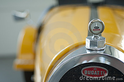 Retro vehicle Bugatti Editorial Photography